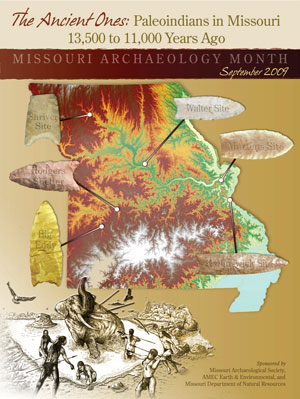 2009 Archaeology Month Poster