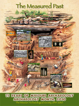 2010 Archaeology Month Poster