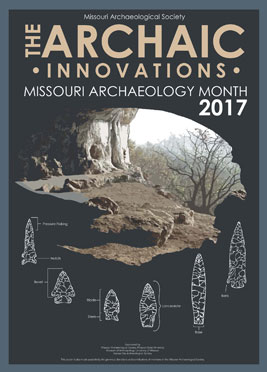 2017 Archaeology Month Poster